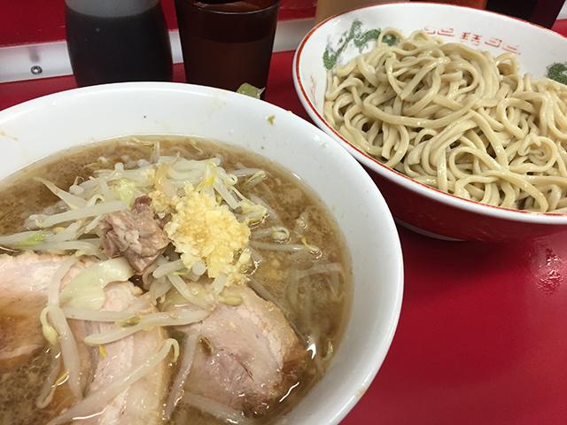 ラーメン二郎 湘南藤沢店:ラーメン+つけ