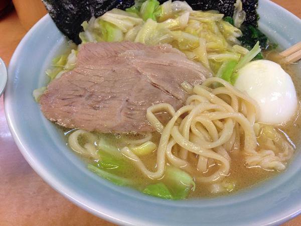 大橋製麺のストレート麺